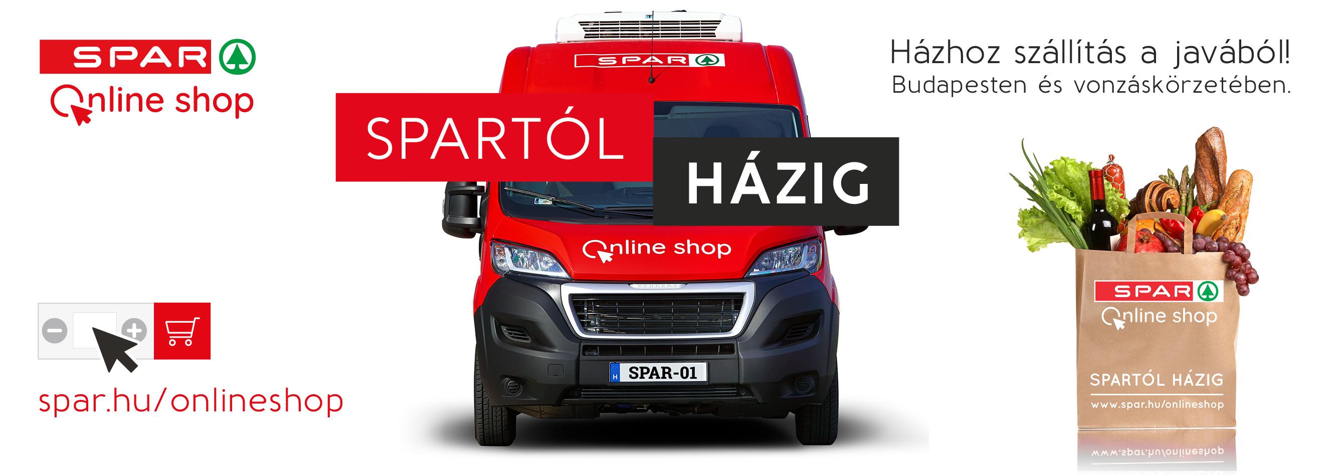 0947d7403f Próbáld ki Te is a SPAR új szolgáltatását! Házhoz szállítás és áruházi  rendelés átvétel Budapesten és vonzáskörzetében.
